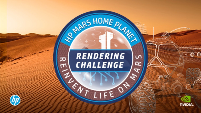 Rendering Challenge by Mars Home Planet
