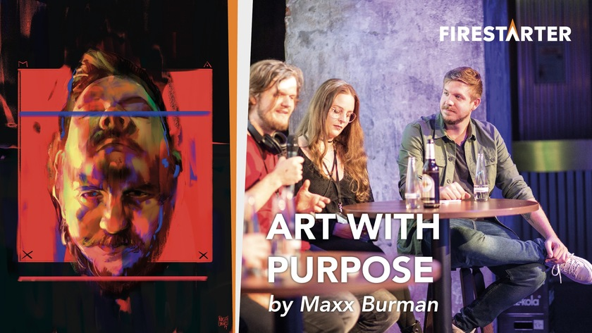 Art With Purpose by Maxx Burman